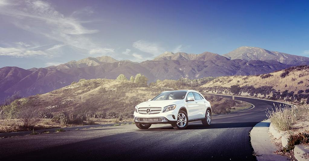 Mercedes GLA, Among Sand Dunes and Volcanos