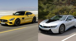 Mercedes AMG GT Will Get a New Rival: the BMW i8s