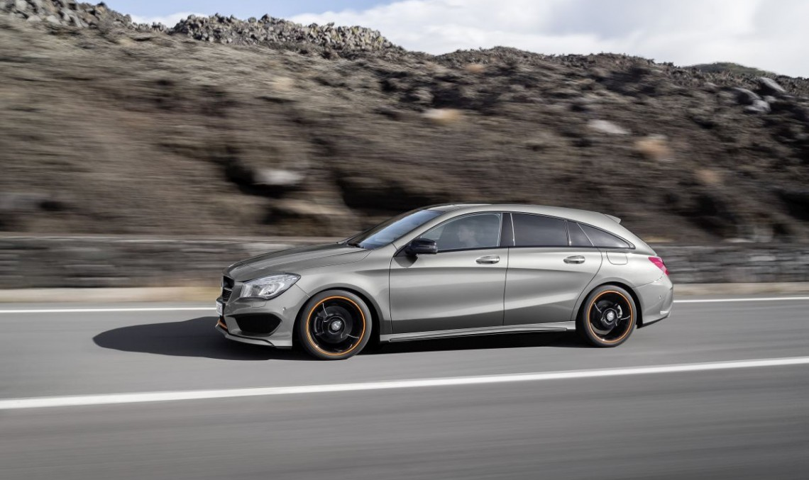 mercedes cla shooting brake almost as big as the c class t model mercedesblog. Black Bedroom Furniture Sets. Home Design Ideas
