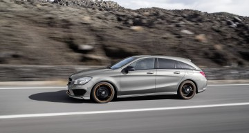 Mercedes CLA Shooting Brake: Almost as Big as the C-Class T-Model
