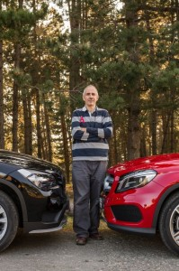 Mercedes GLA vs BMW X1 mercedesblog35