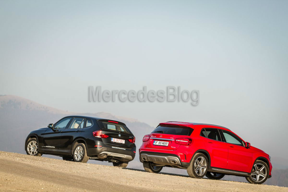 Mercedes GLA vs BMW X1 mercedesblog37