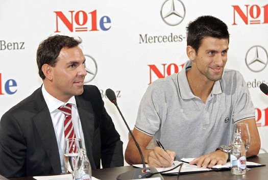 Djokovic Mercedes