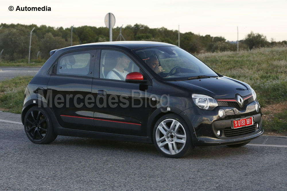 twingo rs first glimpse of possible future sporty smart mercedesblog. Black Bedroom Furniture Sets. Home Design Ideas