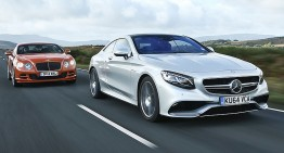 Battle of the luxury coupes: S 63 AMG Coupe vs Bentley GT Speed