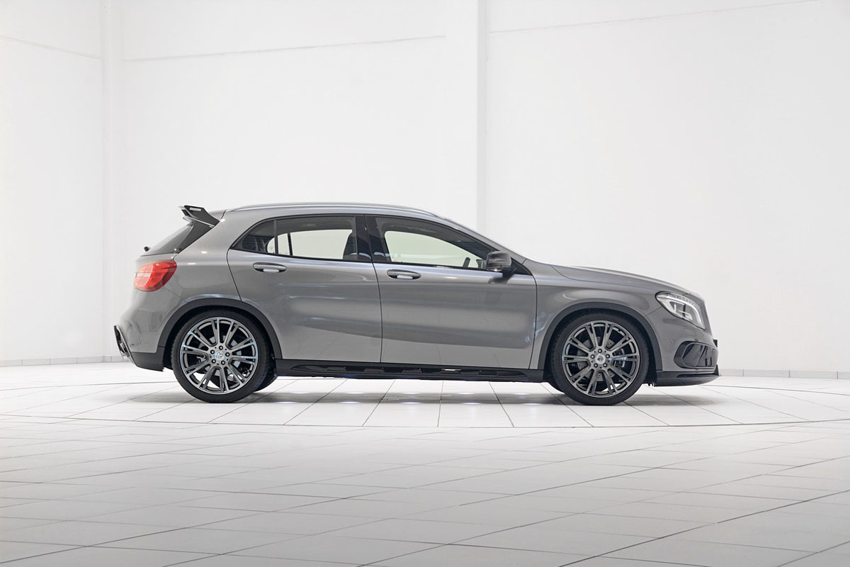 Brabus Mercedes Gla 45 Amg Is Here And It S Awesome Mercedesblog