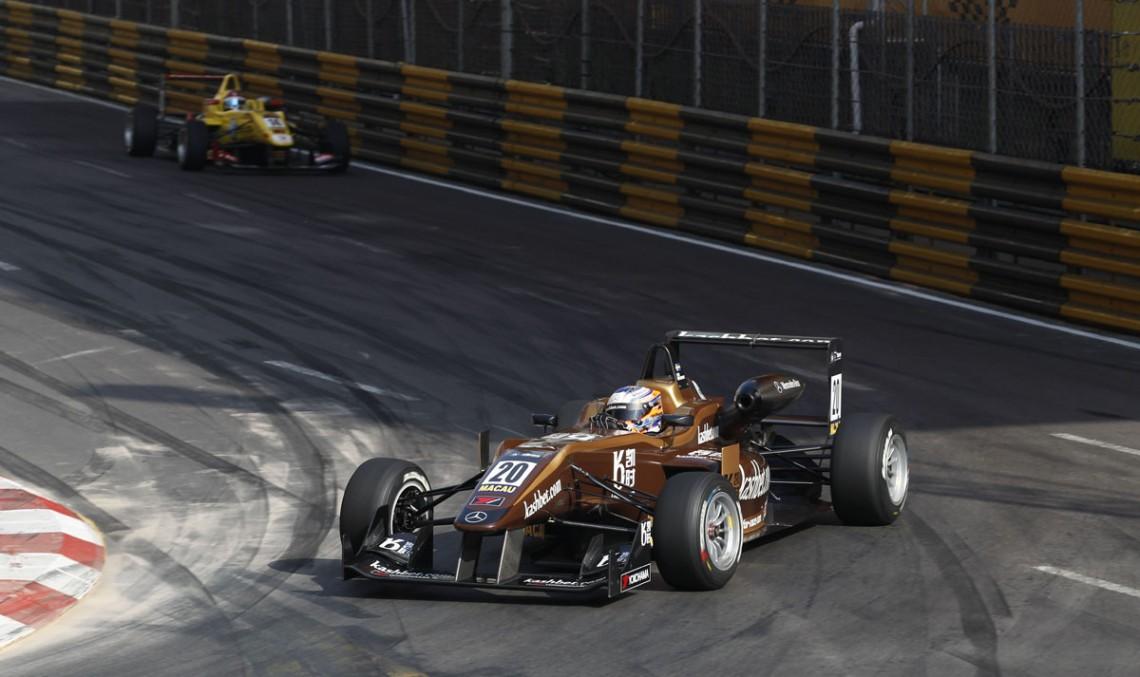 Felix Rosenqvist wins Macau Grand Prix with Mercedes power