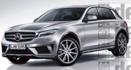Future Mercedes GLE and GLS