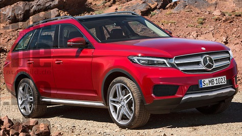 Future Mercedes Gle And Gls Mercedesblog