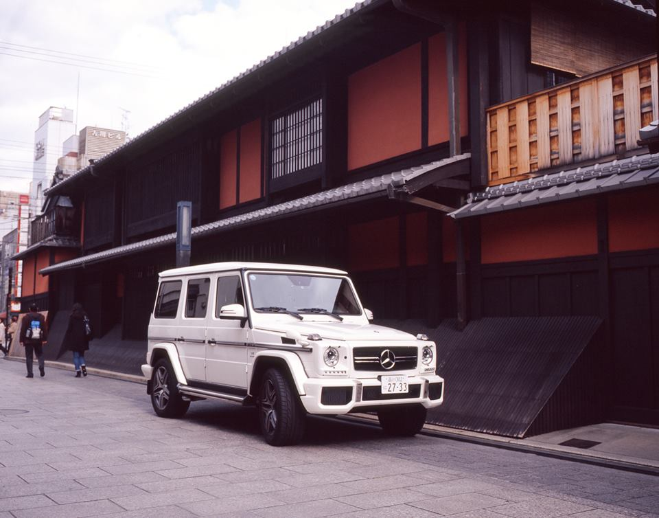 Mercedes-Benz G-Class in Kyoto