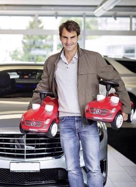 Federer mini cars