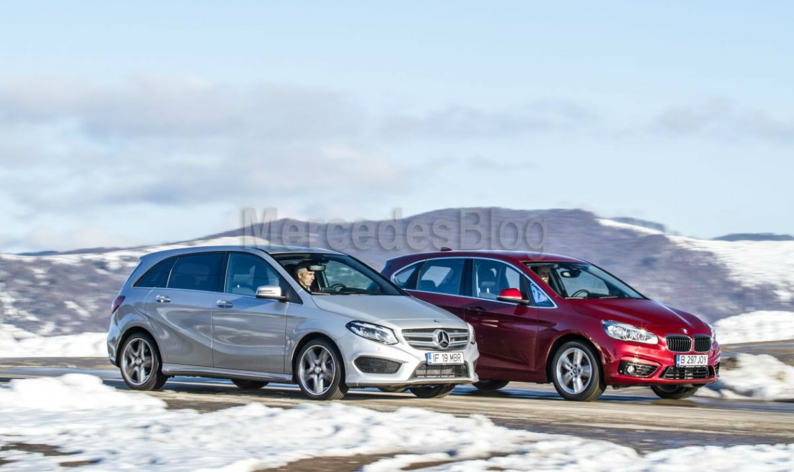 Mercedes-Benz B 200 CDI vs. BMW 218d Active Tourer ...