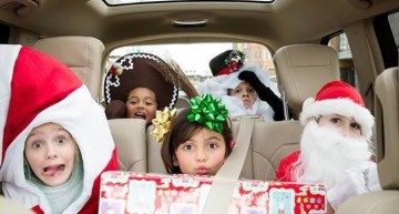 The Mercedes Full of Presents