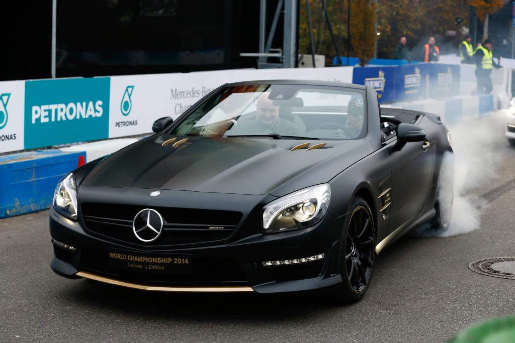 Mercedes SL 63 AMG special edition Hamilton