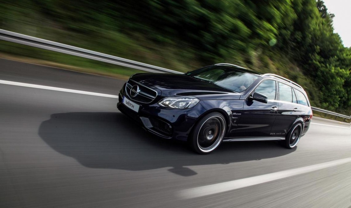 VATH blesses the Mercedes-Benz E63 AMG Estate with 750 hp