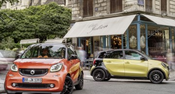 Smart fortwo and forfour electric versions confirmed for 2016