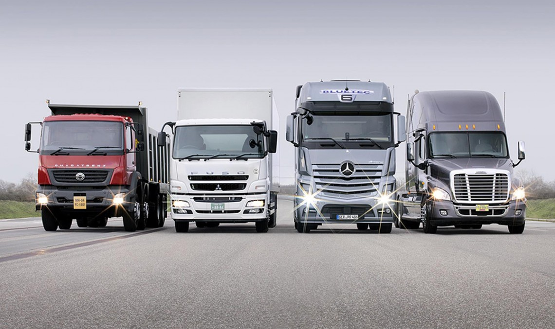 Daimler Trucks sold Almost 500,000 Trucks in 2014