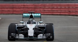 This is the new Mercedes W06 F1 2015 car