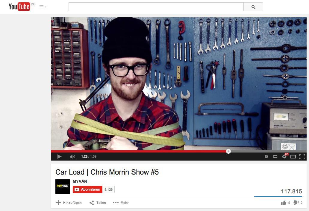 Internationaler Deutscher PR-Preis für Chris Morrin Show