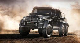 Did you ever wonder how the 700 HP Brabus-tuned G63 AMG 6×6 sounds