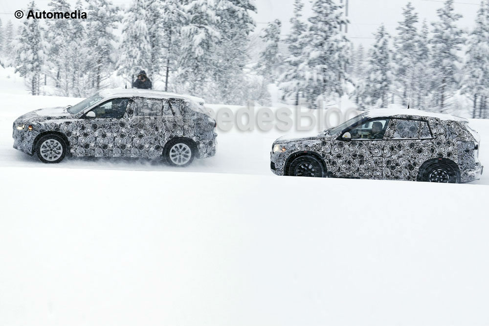 Spied for the First Time: BMW FAST Together with the X1