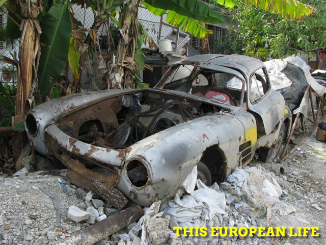 Another Mercedes-Benz 300SL found in Cuba