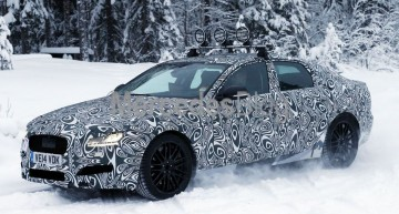 All-new Jaguar XF spied ahead of 2015 launch