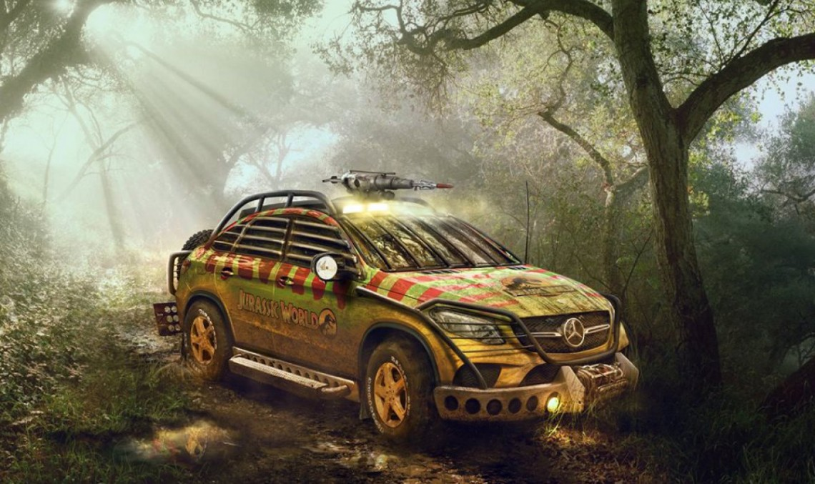 The Mercedes That Fights the Dinosaurs