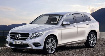 First illustrations of the Mercedes GLC/GLC Coupe