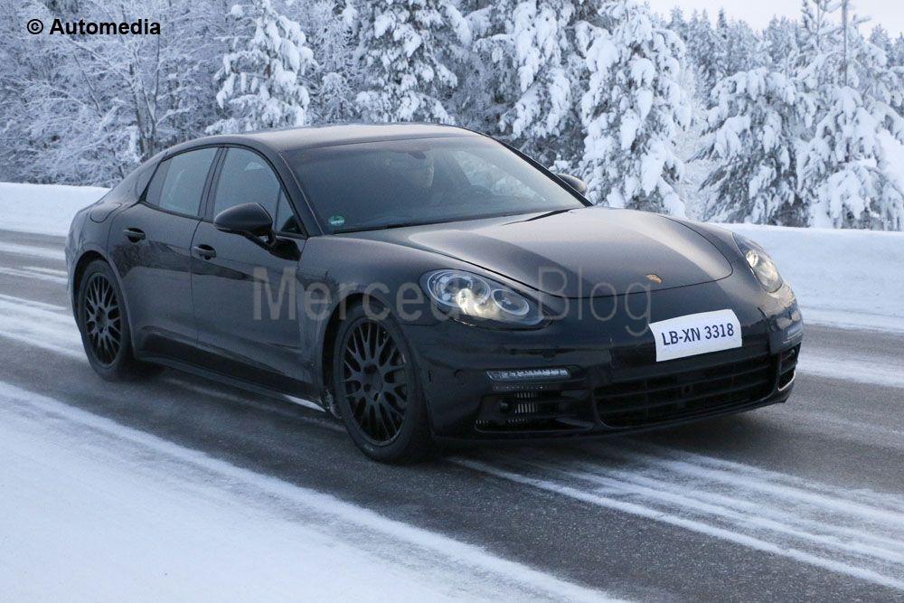 Porsche Panamera readies for 2016 launch – latest spy pictures