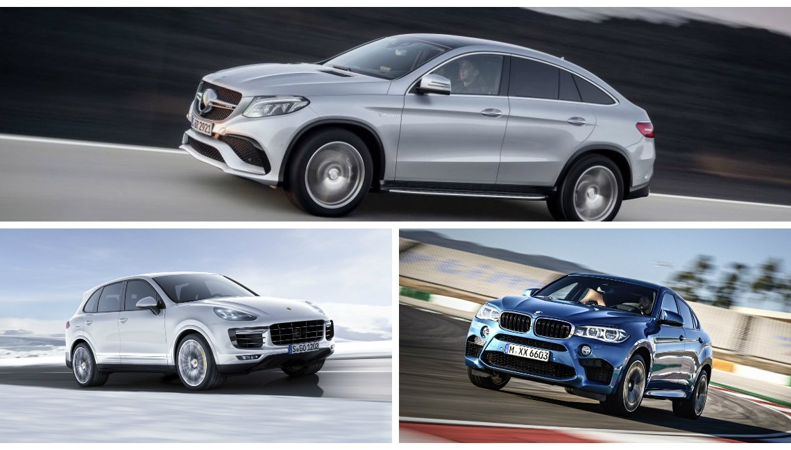Match Of The Year Mercedes Gle 63 Amg Coupe Vs Bmw X6m