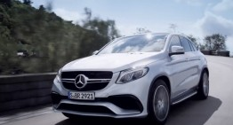 Mercedes-Benz teases the new GLE 63 AMG Coupe. VIDEO