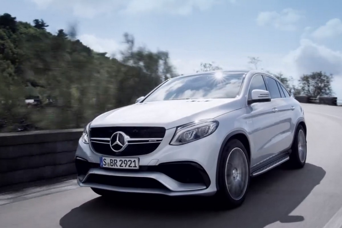 Mercedes benz teases the new gle 63 amg coupe video for Mercedes benz gle 63 amg
