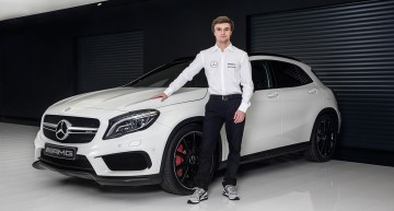 Lucas Auer joins Mercedes in DTM
