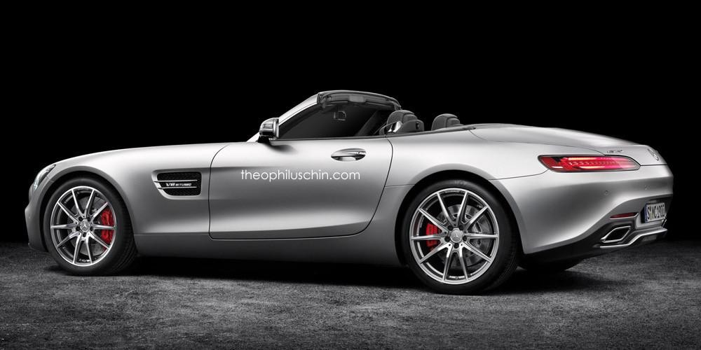Mercedes Amg Gt Roadster Would Be One Sleek Cabriolet