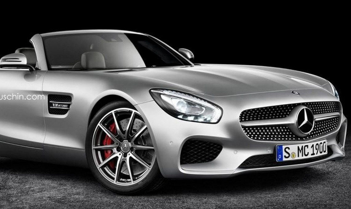 Mercedes-AMG GT Roadster would be one sleek cabriolet