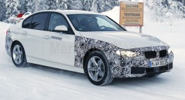 BMW is working on a mild facelift for the 3 Series