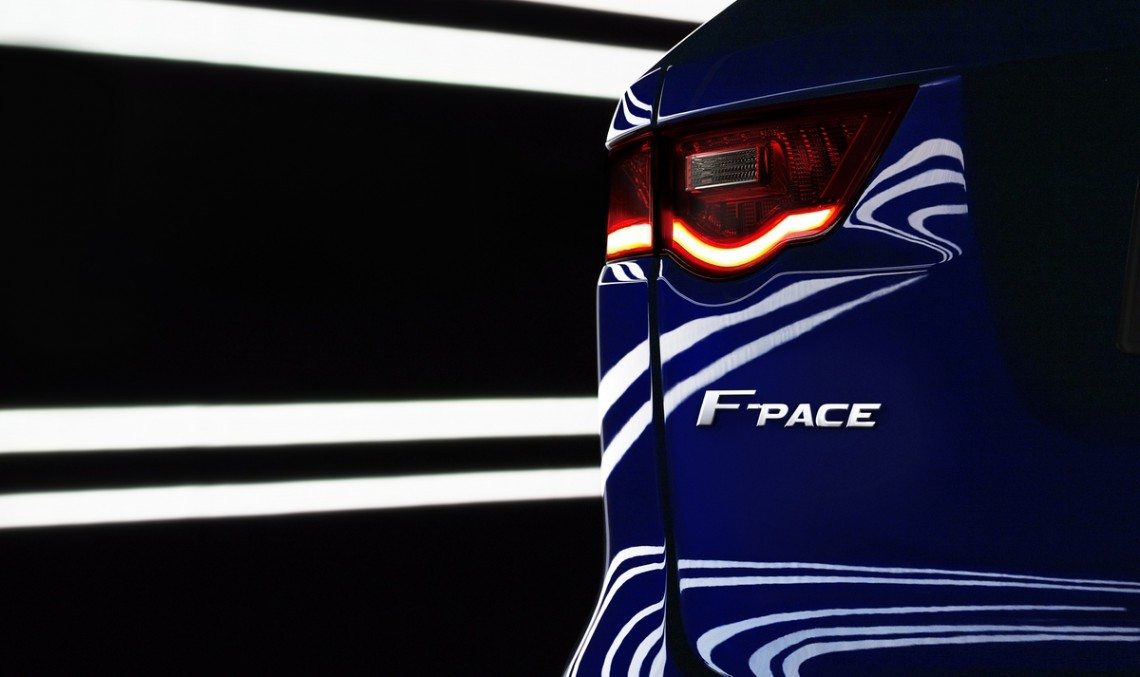 Official: New Jaguar SUV will be known as the F-Pace