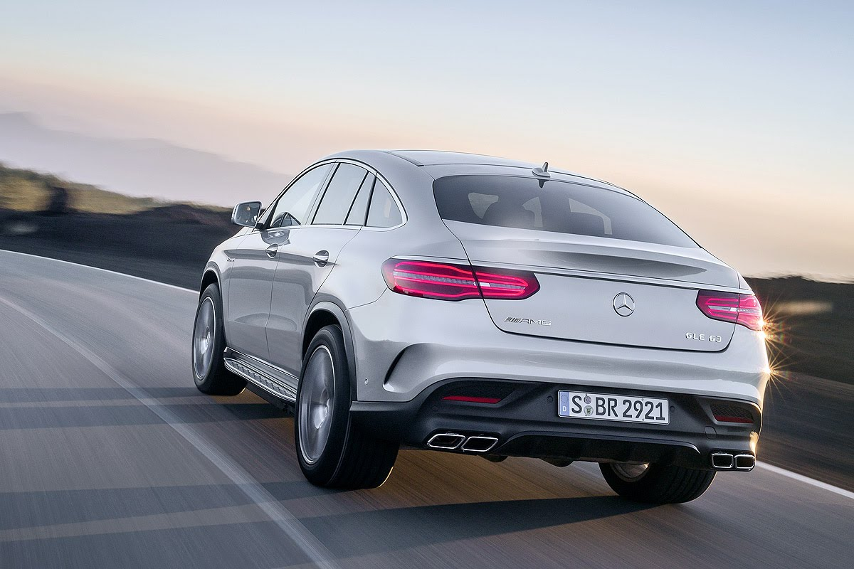 Read here everything thMercedes-AMG GLE 63 Coupé