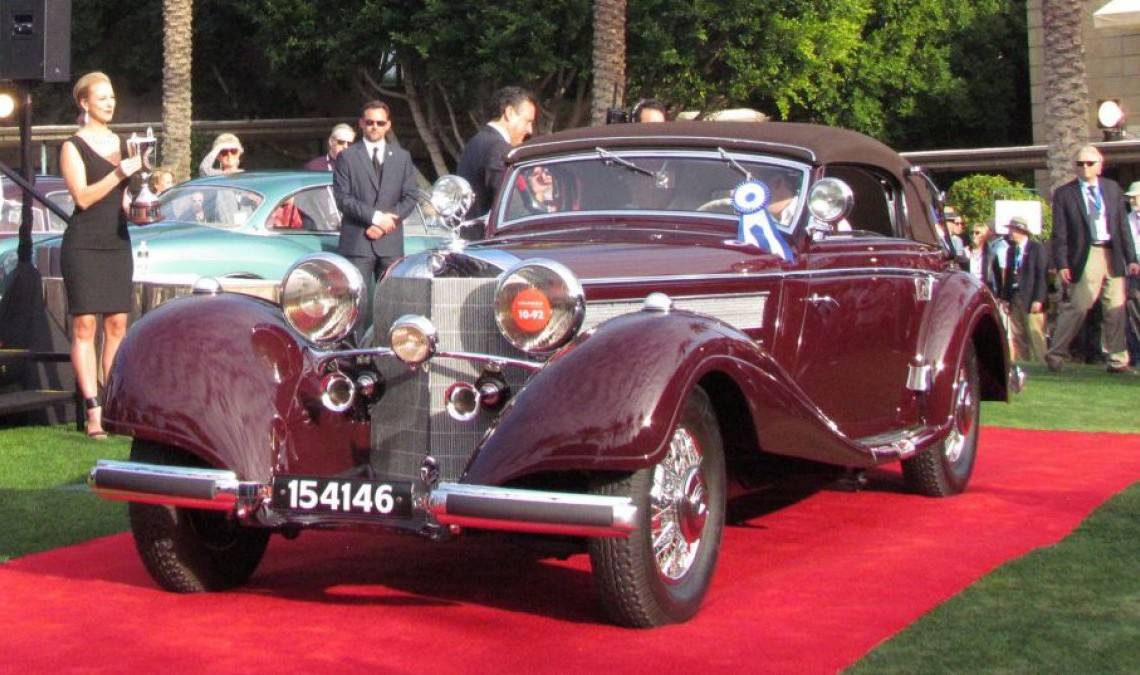 1937 Mercedes-Benz, Best in Show