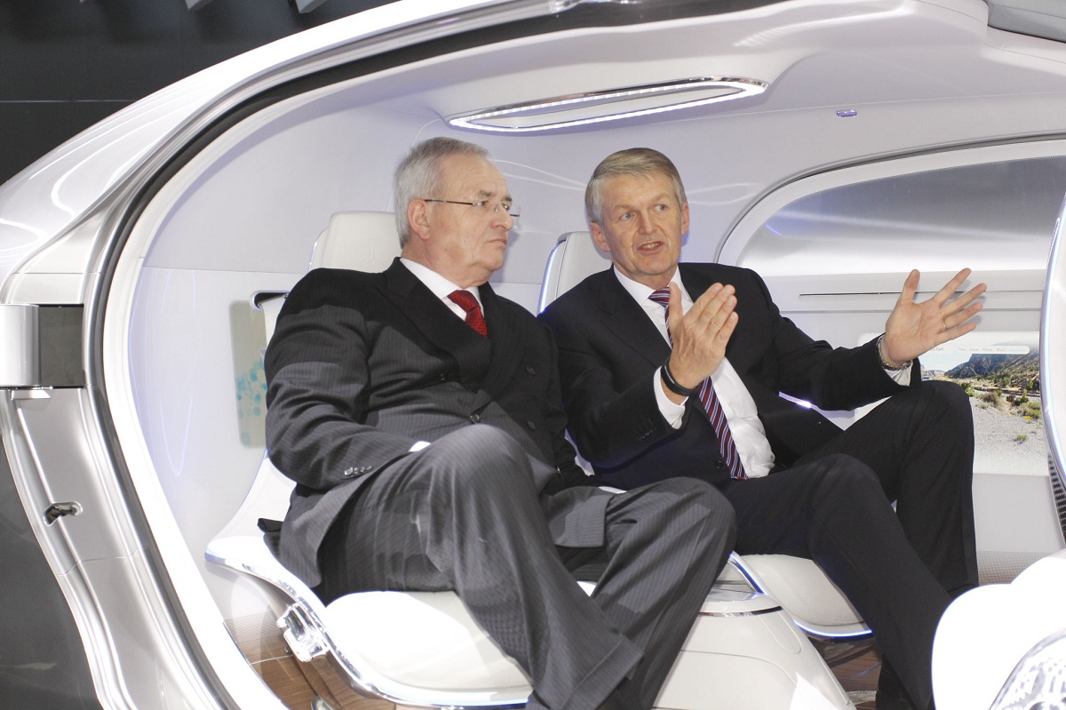 Volkswagen Boss Impressed By The F 015 Luxury In Motion