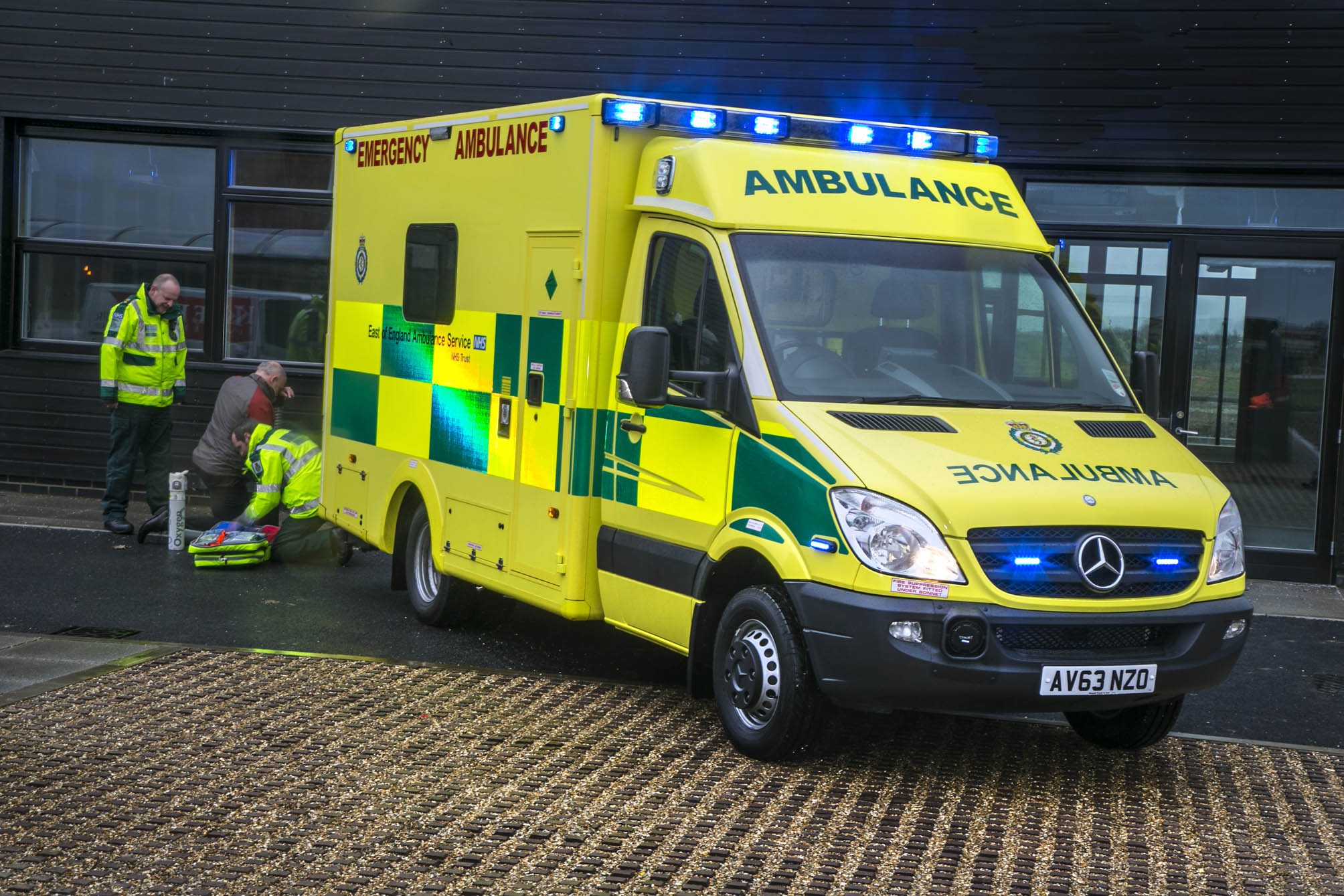 The Mercedes Ambulance Winning The Race Against Time