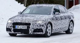 New Audi A4 shows its true face – latest spy pictures