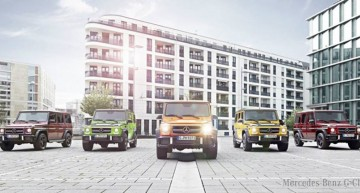 Mercedes G-Class in Crazy Color Edition