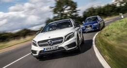 Car Magazine test: Mercedes-Benz GLA 45 AMG vs. Audi RS Q3
