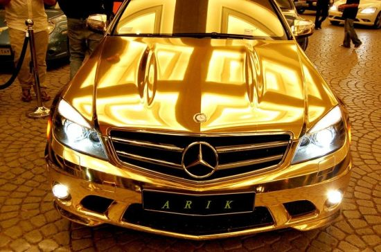 Sultan of Cars gold