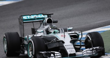 MERCEDES AMG PETRONAS continues testing in Jerez