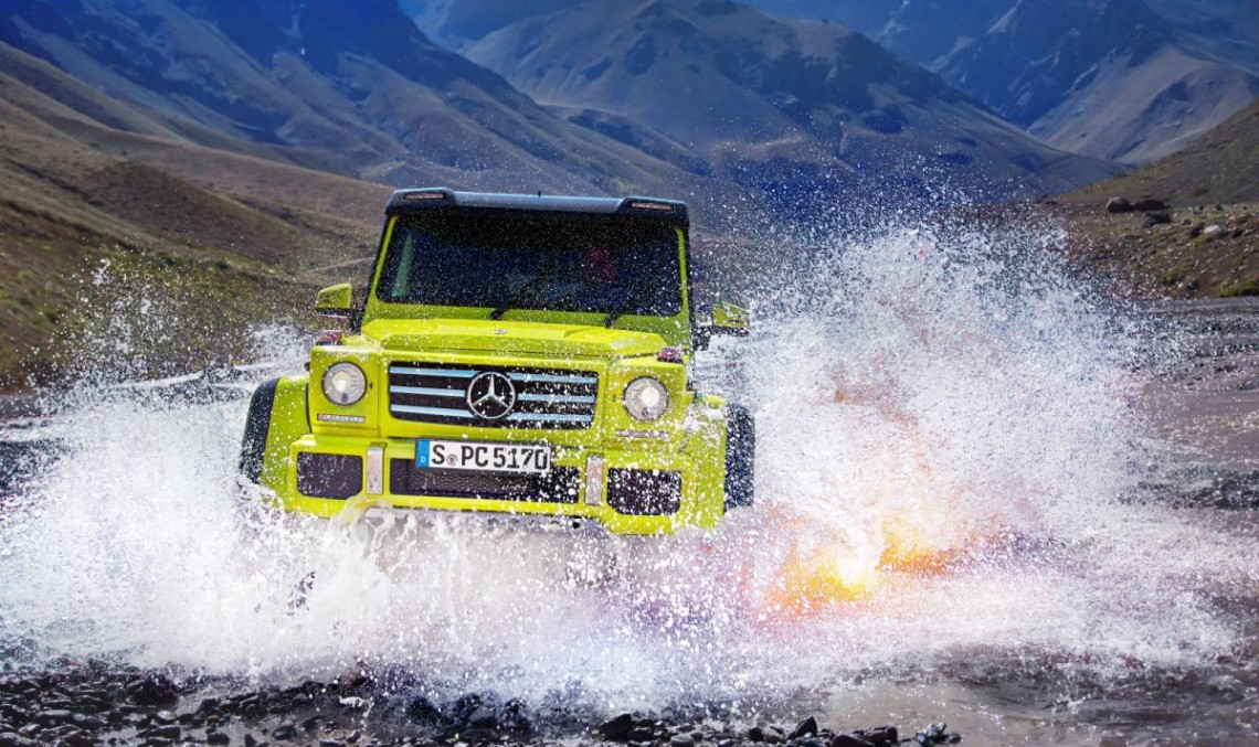 The Benz of Extreme Adventure: Mercedes-Benz G500 4×4². Video