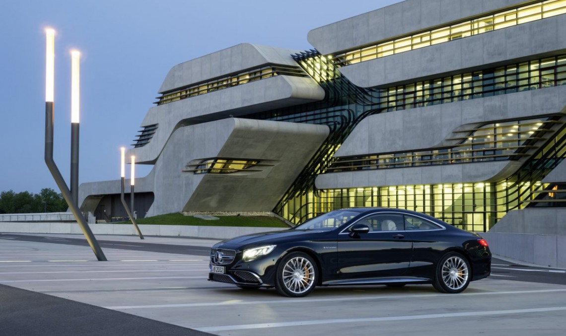 From zero to hero in 4.1 in the S 65 AMG Coupe video