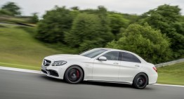 Mercedes C 63 AMG S first official video